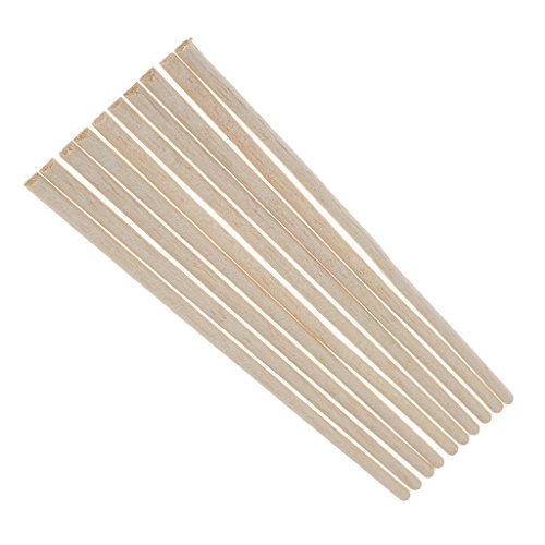 MagiDeal 5 Stück Balsa Holz Semi Circle Sticks Streifen Für Modell DIY Handwerk