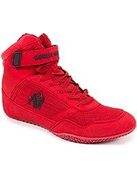 GORILLA WEAR High Tops Bodybuilding e Scarpe Fitness - Uomo Rosso 46