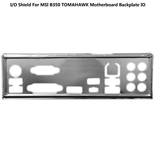 BAAQII E/A-Abschirmung für MSI B350 Tomahawk Motherboard Backplate IO -
