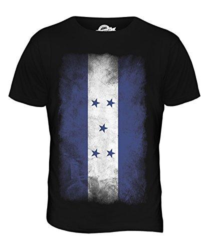 CandyMix Honduras Verblichen Flagge Herren T Shirt Schwarz