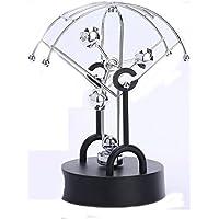 eca12b8b9a0 JIAJU Caos ornamenti moto perpetuo macchina Newton pendolo palla da  biliardo creativo Newton culla sospensione magnetica