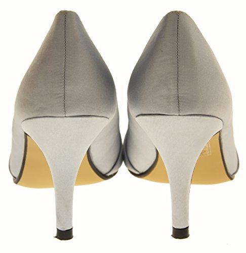 Glitz Occasions Bout Ouvert Femmes Talons hauts silver