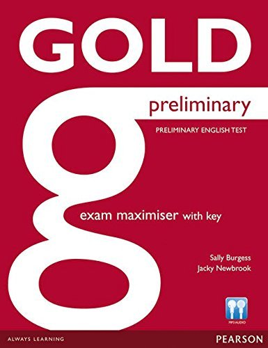 Gold Preliminary Maximiser with Key by Sally Burgess (2013-03-14)