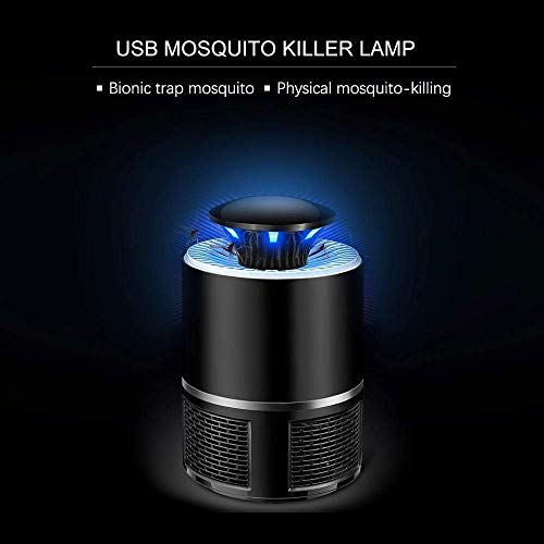 ADTALA Electric Mosquito Killer, USB UV Lamp Bug Zappers No Noise No Radiation Insect Killer Flies Trap with Trap Lamp for Indoor Home