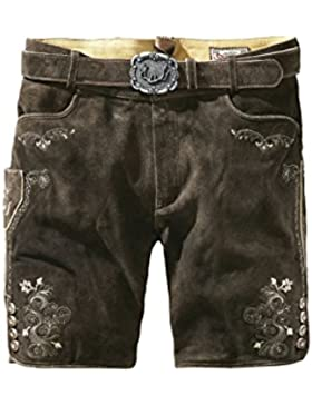 Stockerpoint - Herren Trachten Lederhose mit Gürtel in verschiedenen Farben, Corbi3