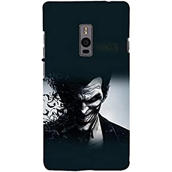 printtech Joker Bats Abstract Game Back Case Cover for OnePlus Two / One plus two / Oneplus 2 / One Plus 2