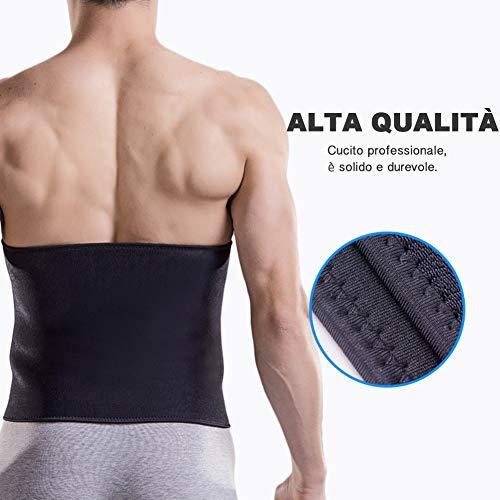 Zoom IMG-2 kindax fascia dimagrante cintura addominale