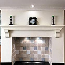 Mantel Shelf Solid Wood Fireplace Oven Victorian Floating Piece