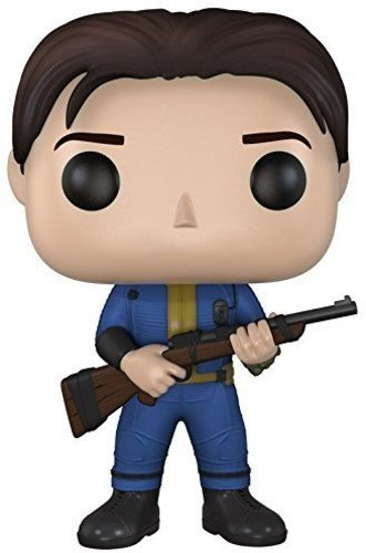 fallout 4 figur FunKo 021048 Pop Games: Fallout 4 Sole Survivor 75 Vinyl Figure