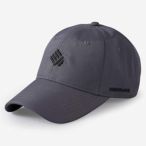 sdssup Baseballmütze Flut männliche Kappe Sommer Größe Sonnenhut grau normal Code (56-59) -