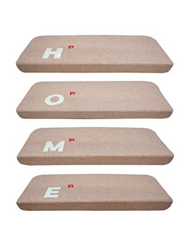 besbomig Lumineux Escalier Tapis Mats Antidérapant Plancher Escalier Protecteur Tapis Décor à la Maison - D'intérieur Auto-Adhésif marchettes d'escalier