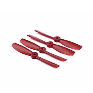 ZYCX123 OCDAY Red 5045 Bull Nose Strengthen Propellers CCW CW For 250/280 Race Drone