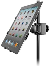 IK Multimedia iKlip2 Support d'adaptateur pour iPad Noir