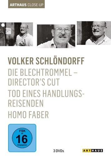 Bild von Volker Schlöndorff - Arthaus Close-Up ( Die Blechtrommel - Director's Cut / Homo Faber / Tod eines Handlungsreisenden ) [3 DVDs]