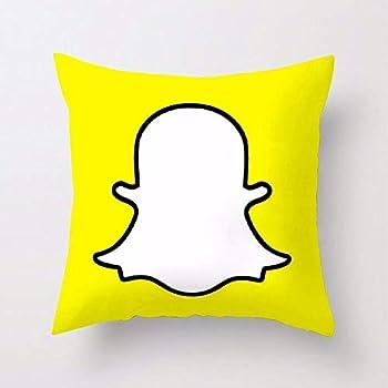 Luxury Microfibre Social Media Cushion Covers Decorative Pillow Cover Item