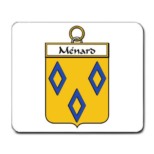 menard-family-crest-coat-of-arms-mouse-pad