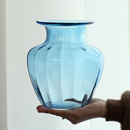 SE7VEN Klares glas vase ornamente/home esszimmer dekorationen/tisch dekoration blume...