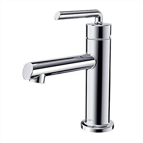 CLOFY Einhebel - Waschtischarmatur,kupfern, heißes und kaltes Wasser Doppelverwendung