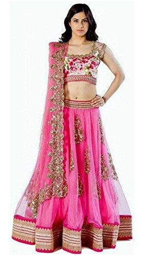 Varibha Women'S Lehenga Choli (Multicolour/Pink)
