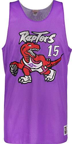 Mitchell & Ness Toronto Raptors Vince Carter Reversible Mesh Jersey - NBA Basketball (M) Carters Top