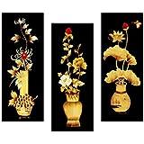 SAF Flower Floral 6MM MDF Framed Digital Reprint 15 inch x 18 inch Painting SANFJ25