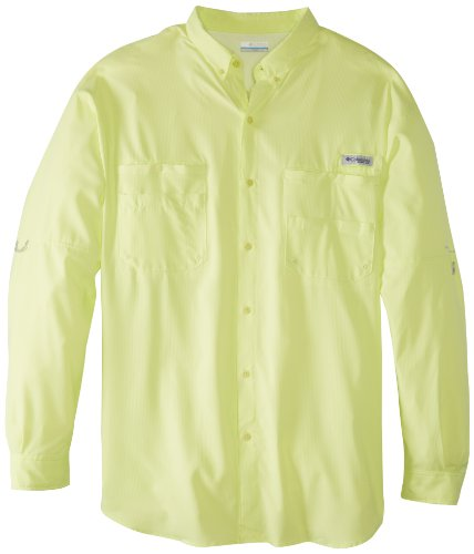 Tamiami Angeln Shirt (Columbia Herren Plus TAMIAMI II Long Sleeve Shirt, Herren, Neon Light, 3X)