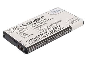 vintrons 3.7V Batterie pour Blackberry Q10LTE sqn100–1, bat-52961–003, NX1, Q10