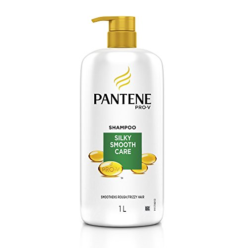 Pantene Silky Smooth Care Shampoo, 1L