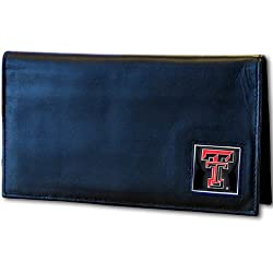 Texas Tech Raiders Leather Checkbook Cover