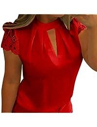 new arrival bbfe2 f1439 Amazon.it: camicia rossa donna - Bluse e camicie / T-shirt ...