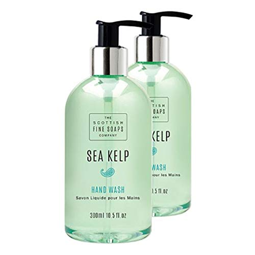 Scottish Fine Soaps Sea Kelp Hand Wash Twin Pack - Gel Twin Pack