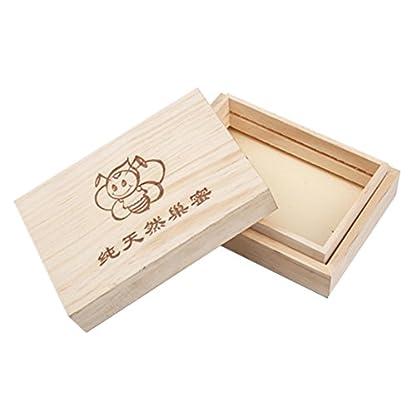 250g Wooden Bee Honey Cassette Box Beekeeping Equipment 1