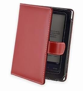 Cover-up étui de protection pour sony pRS-t1, pRS-t2 (à rabat en cuir véritable)