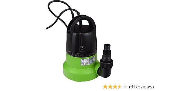 Tauchpumpe clear water 250 mit integrierten Schwimmerschalter und max Agora-Tec/® AT 0,6 bar und max 6000l//h