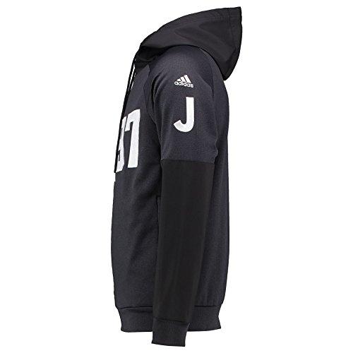Juventus FC 1897 felpa con cappuccio Adidas Black