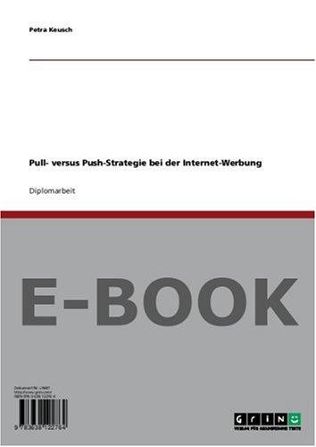 Pull- versus Push-Strategie bei der Internet-Werbung