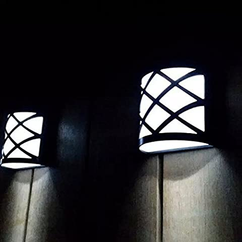 FAN4ZAME Retro Wall Lamp Lampe Solaire Lampe Murale Rétro À La Mode