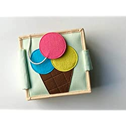Cubs and Calves Sweet Scoops (Nano Size) Quiet Book