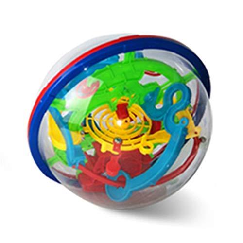 TAOHOU 100 off Labyrinth Ball Small 3D Puzzle Magico Palla 3 Punti di partenza del Gioco Colorato