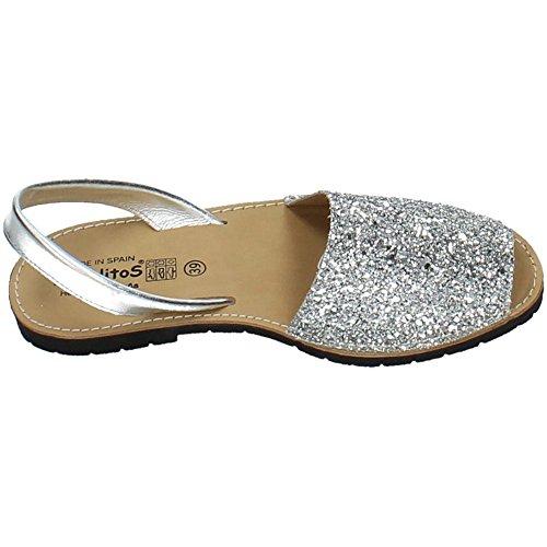 ANGELITOS , sandales femme Argent