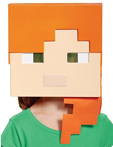 Minecraft Alex Kid's Mask (Minecraft Steve Maske)