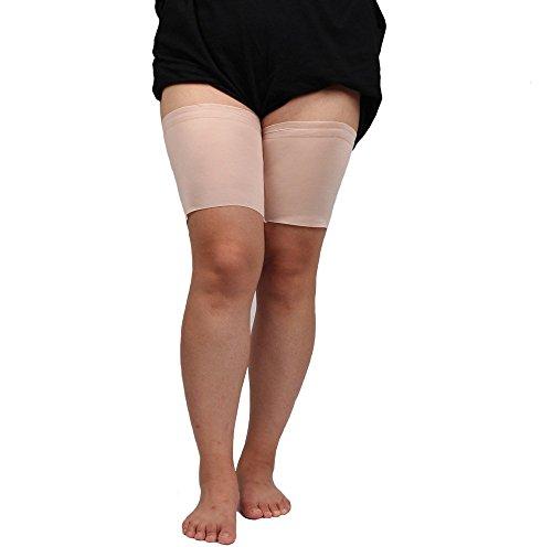UMIPUBO Bande de Cuisse Anti-frottement Cuisse Bandes Élastiques Silicone Femmes Chaussette Cuisse Lisse Cuisse Socks Bandeaux de Cuisse 1 Pa