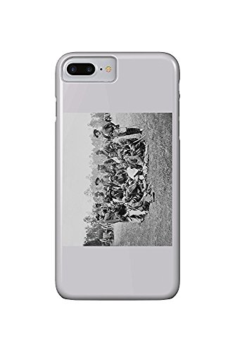 Fair Oaks, VA - Officers of the Horse Artillery Civil War Photograph (iPhone 7 Plus Cell Phone Case, Slim Barely There)