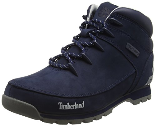 Timberland Euro Sprint Hiker, Botas Chukka para Hombre, Azul-Blue (Black Iris), 41.5 EU
