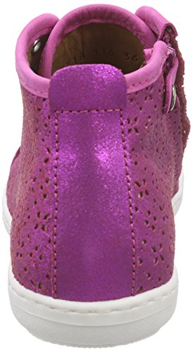 Bisgaard Mädchen Shoe with Laces High-Top Pink (136 Glitter-pink)