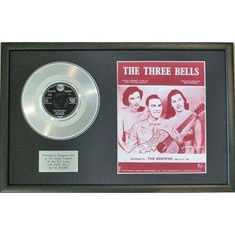 El disco de platino - marrones y canción de - Las tres campanas