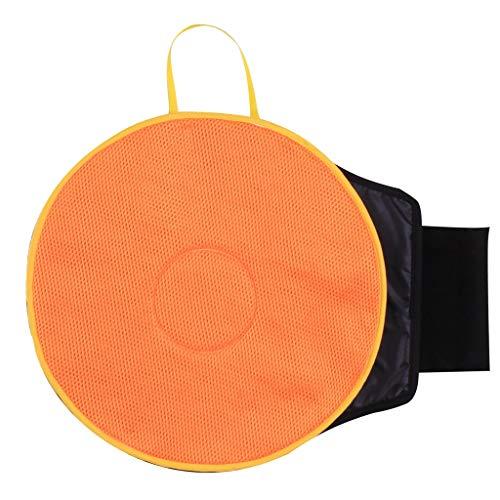 Maleya Drehkissen, für einfacheres Aufstehen aus dem Auto oder vom Stuhl, EIN- und Ausstiegshilfe fürs Auto, Autositzkissen, Drehsitz für Senioren Ultradünnes Autositz Memory Sponge Rotation 360 ° -