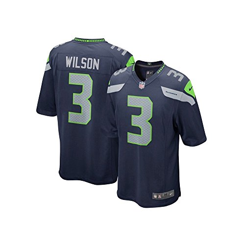 Nike NFL Seattle Seahawks Home Game Jersey - Russell Wilson X Large