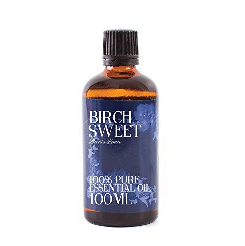 Aceite Esencial de Abedul Dulce - 100ml - 100% Puro