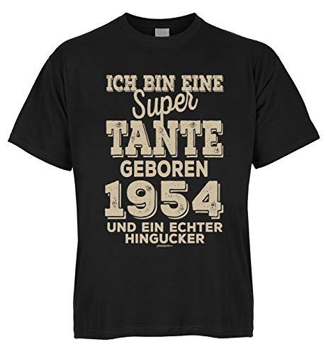 Geburtstag Bio-T-Shirt: super Tante geboren 1954